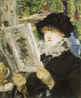 Edouard Manet Woman Reading