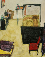 Egon Schiele The Artist's Bedroom in Neulengbach