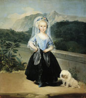 Francisco Goya Maria Teresa de Borbón y Vallabriga, later Countess of Chinchón