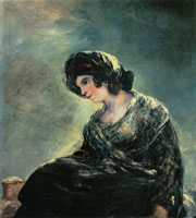 Francisco Goya Milkmaid of Bordeaux