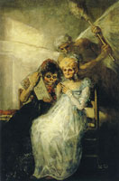 Francisco Goya Old Women (Time)