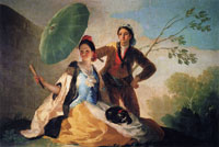Francisco Goya - The Parasol