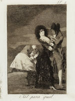 Francisco Goya - Two of a Kind