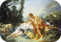 François Boucher Daphnis and Chloe