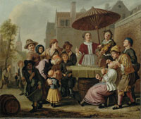 Jan Victors The tooth puller