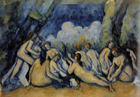 Paul Cézanne The large bathers