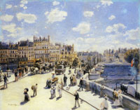 Pierre-Auguste Renoir The Pont Neuf, Paris