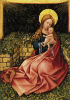Robert Campin Maria with Child