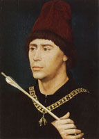 Rogier van der Weyden Portrait of Anthony of Burgundy