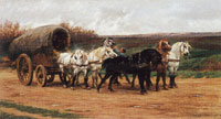 Rosa Bonheur A Waggon and a Team of Horses