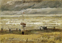 Vincent van Gogh View of the sea at Scheveningen