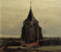 Vincent van Gogh The Old Church Tower at Nuenen