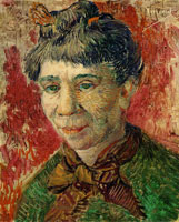 Vincent van Gogh Portrait of a woman