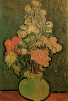 Vincent van Gogh Vase with Rose-Mallows