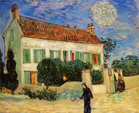 Vincent van Gogh The White House by Night