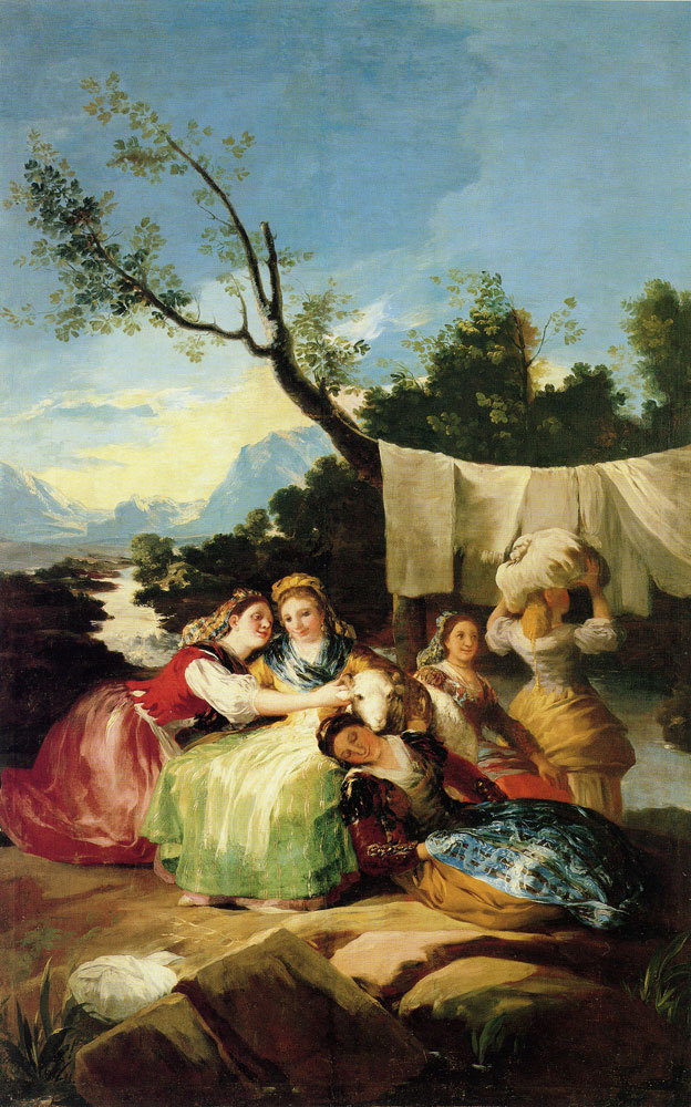Francisco Goya - The Laundresses