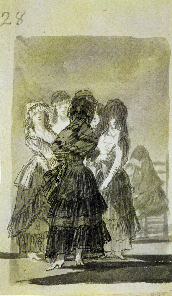 Francisco Goya - Group of Majas on the Paseo