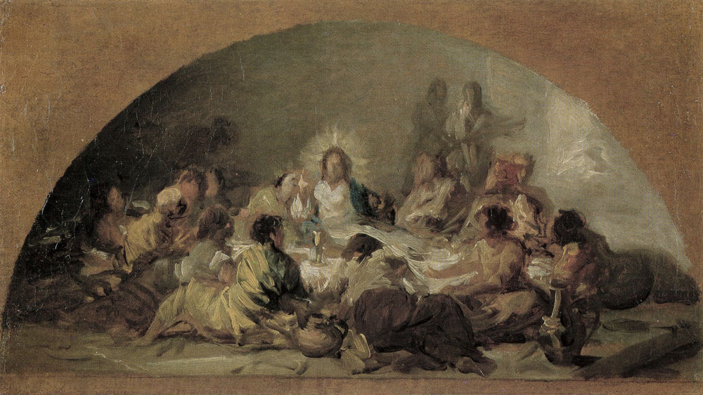 Francisco Goya - Sketch for The Last Supper