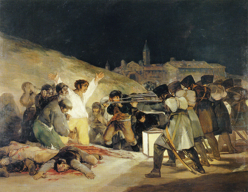 the third of may 1808 The third of may 1808 is a painting completed in 1814 by the spanish painter francisco goya, now in the museo del prado, madrid in the work, goya sought to commemorate spanish resistance to napoleon's armies during the occupation of 1808 in the peninsular war.