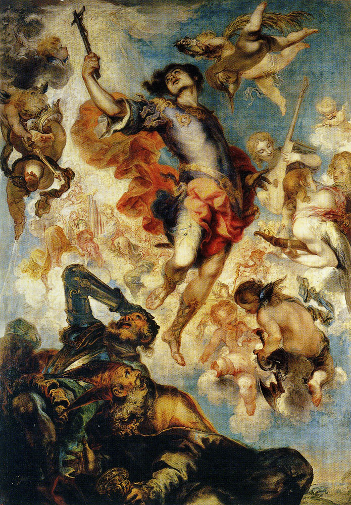Francisco de Herrera the Younger - The Apotheosis of Saint Hermenegild