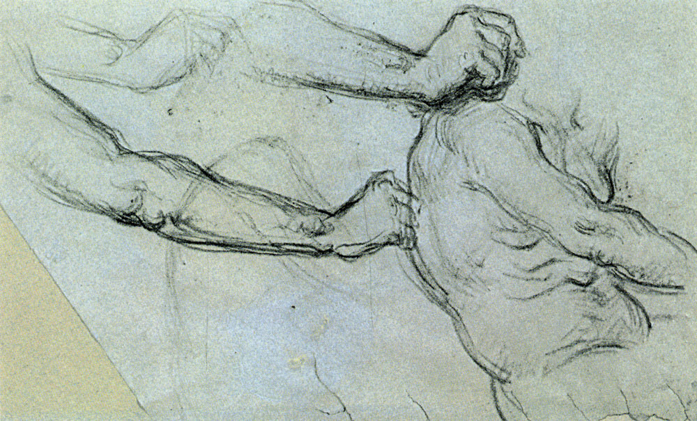 Paul Cézanne - Arm studies