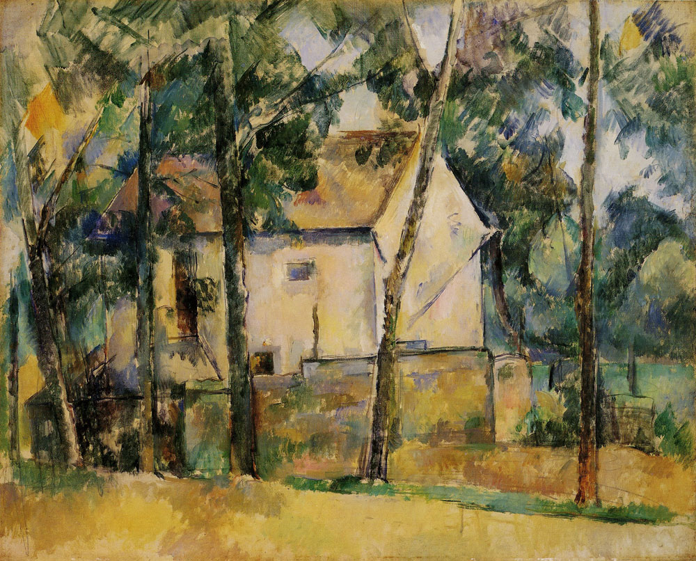 Paul Cézanne - House and Trees