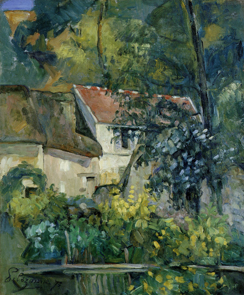 Paul Cézanne - Study: Landscape at Auvers