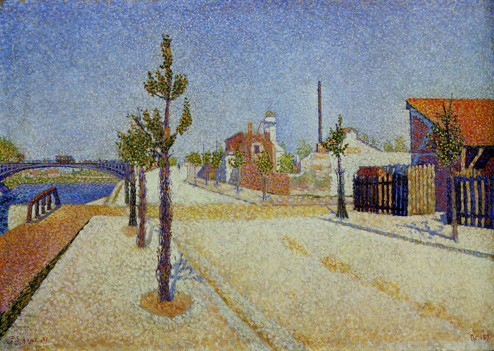 Paul Signac - Quay at Clichy
