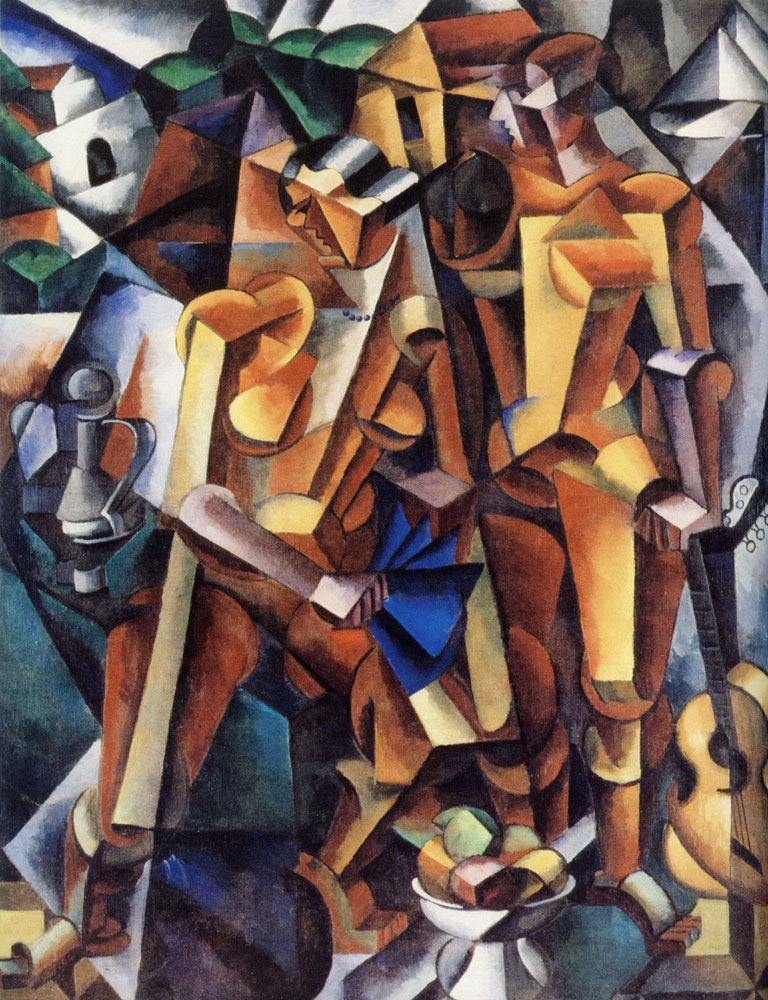 Lyubov Popova - Composition with figures