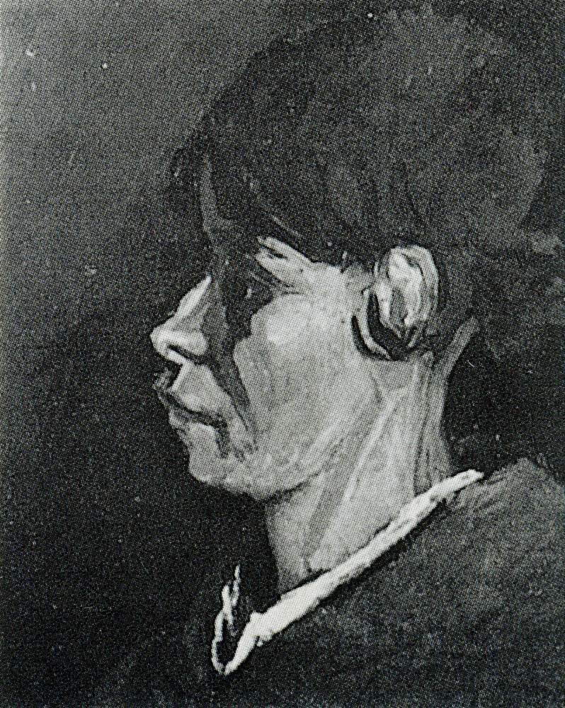 Vincent van Gogh - Head of a peasant woman, bareheaded