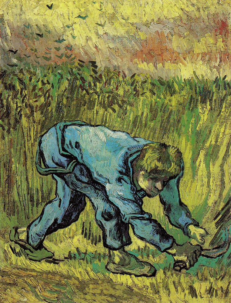Vincent van Gogh - Reaper with Sickle