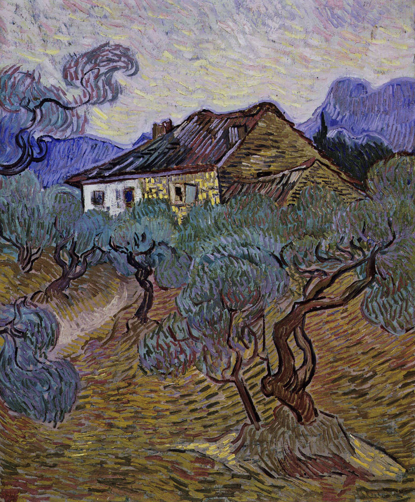 Vincent van Gogh - White Cottage