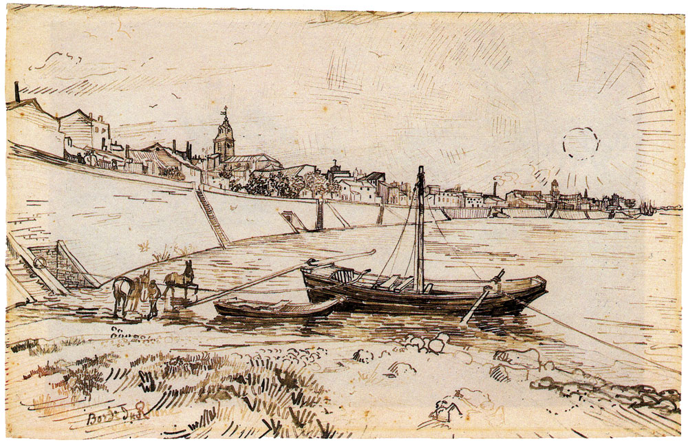 Vincent van Gogh - Bank of the Rhône