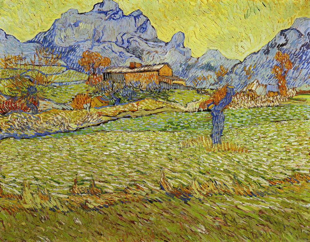Vincent van Gogh - Meadow in the Mountains