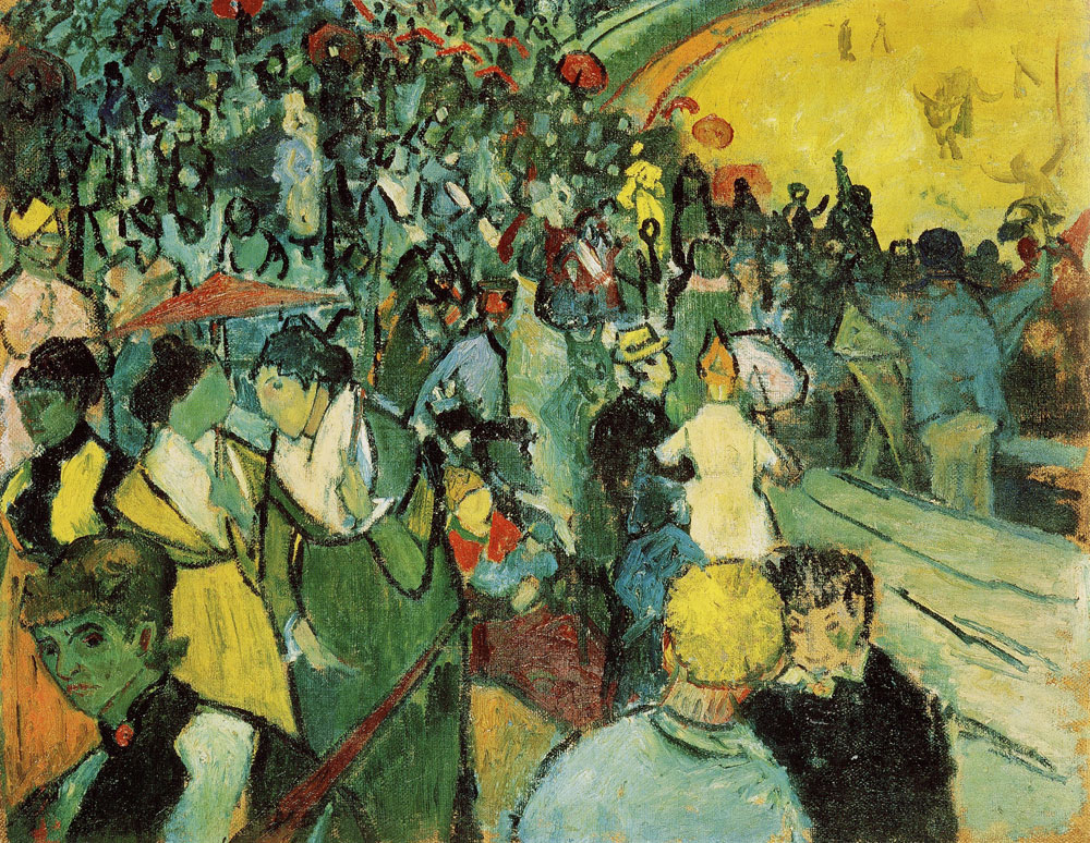 Vincent van Gogh - Spectators at the Arena