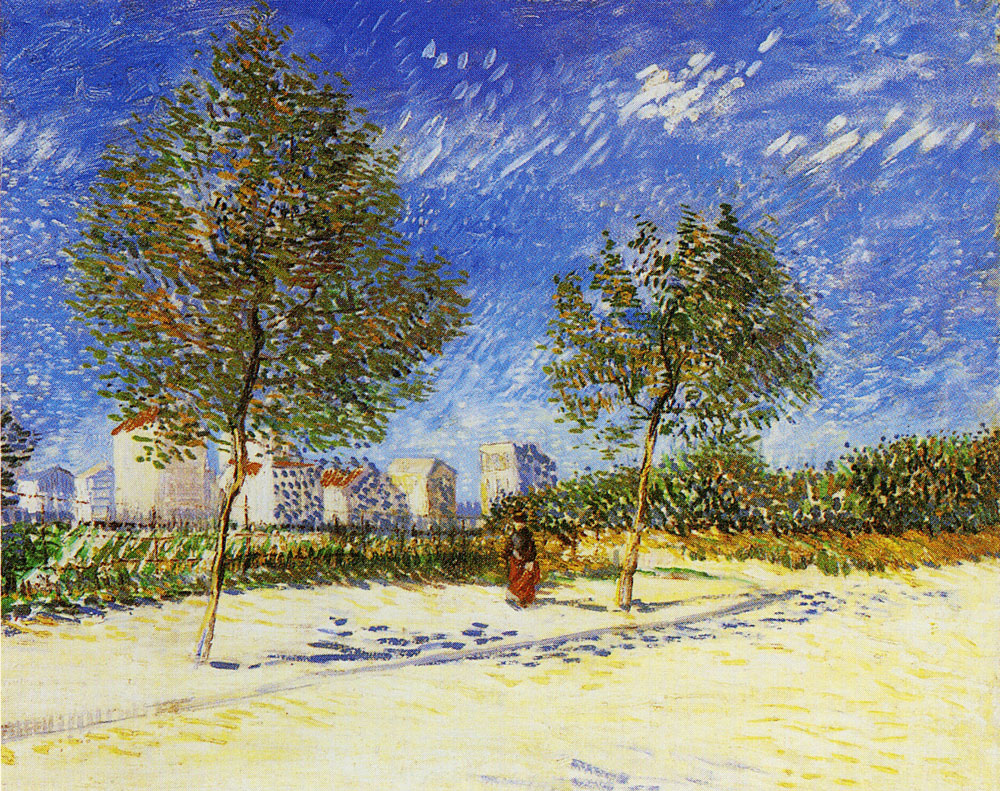 Vincent van Gogh - A suburb of Paris