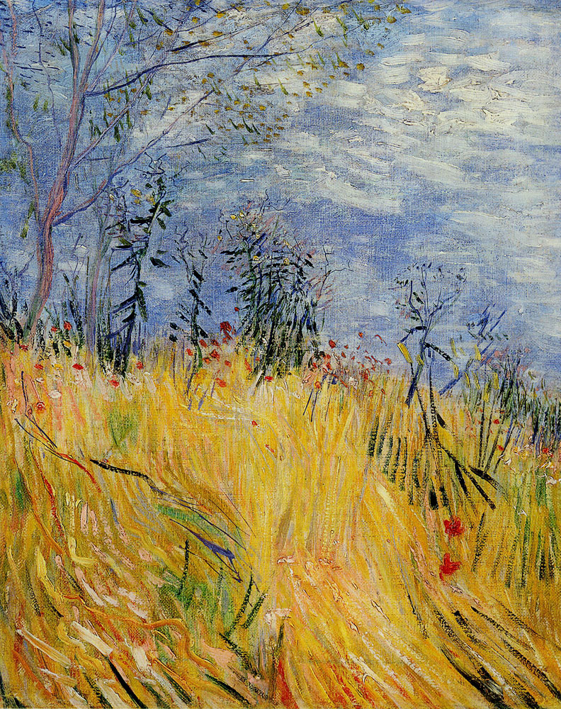 Vincent van Gogh - Edge of a Wheat Field with Poppies