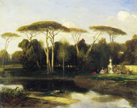 Alexandre-Gabriel Decamps The Villa Doria Pamphilj, Rome
