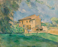 Paul Cézanne The Farm at the Jas de Bouffan