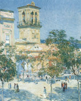 Childe Hassam Street of the Great Captain, Cordoba