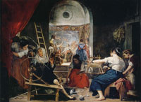 Diego Velazquez - The Fable of Arachne or The Spinners
