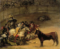 Francisco Goya Bullfight: Suerte de vara