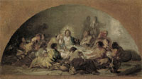 Francisco Goya Sketch for The Last Supper