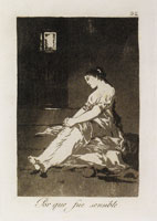 Francisco Goya - Because She Was Susceptible