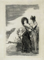 Francisco Goya - Two of a Kind (Working proof)
