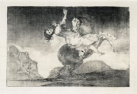 Francisco Goya Unbridled Folly (Posthumous trial proof)
