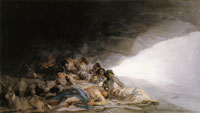 Francisco Goya - Vagabonds Resting in a Cave