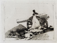 Francisco Goya What Courage! (Working proof)