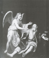 Godfrey Kneller Elia and the angel