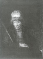 Heijmen Dullaert Man with Fur Hat